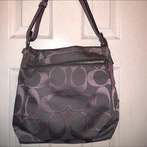 Coach lavender shoulder bag